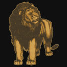 Lone Lion T-Shirts and more by Cheerful Madness!! at Redbubble
