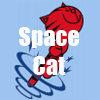 Space Cat T-Shirts and accessories by Cheerful Madness!! at Shirtcity