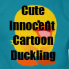 Cute Innocent Cartoon Duckling T-Shirts, apparel, gifts and more products by Cheerful Madness!! at Zazzle